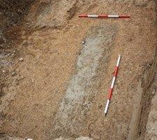 Excavacion arqueologica en Aranjuez