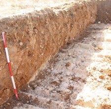 Perfil Sondeo Arqueologico