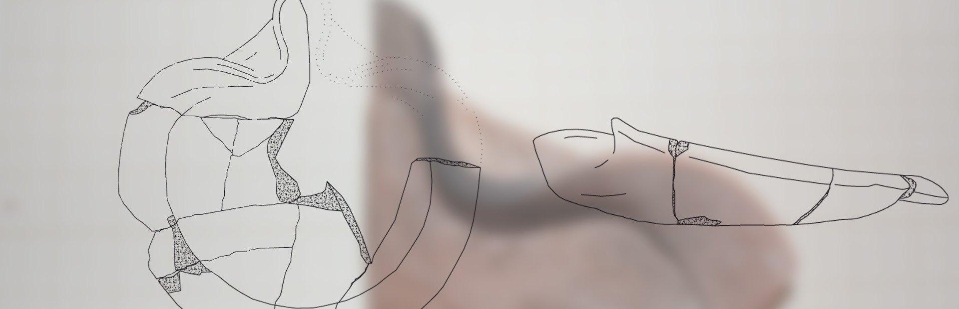 Dibujo Arqueologico de Lucernas de la Fonteta
