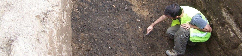 Excavacion en Castro de Parada en Pontevedra
