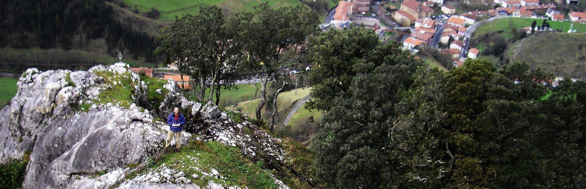 Colaboracion en el proyecto de investigacion del Castillo de Jentilbaratza