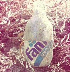 Botella de Fanta Antigua