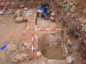 Excavando una teneria en Segovia
