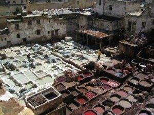 Teneria en Marruecos
