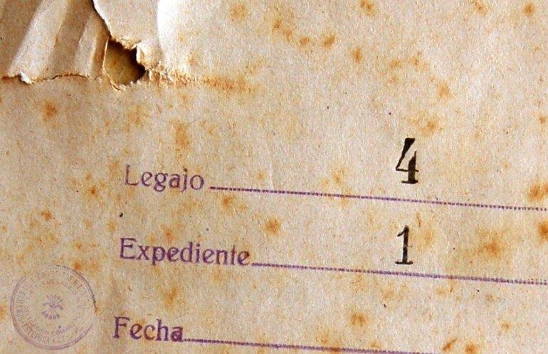 Portada de Expediente del Archivo de Estepona