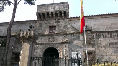 Entrada al Archivo General Militar de Avila