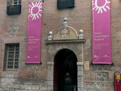 Entrada del Museo Arqueologico Regional de Madrid