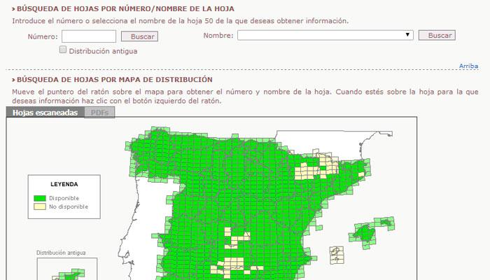 Buscar mapa geologico para un arqueologo