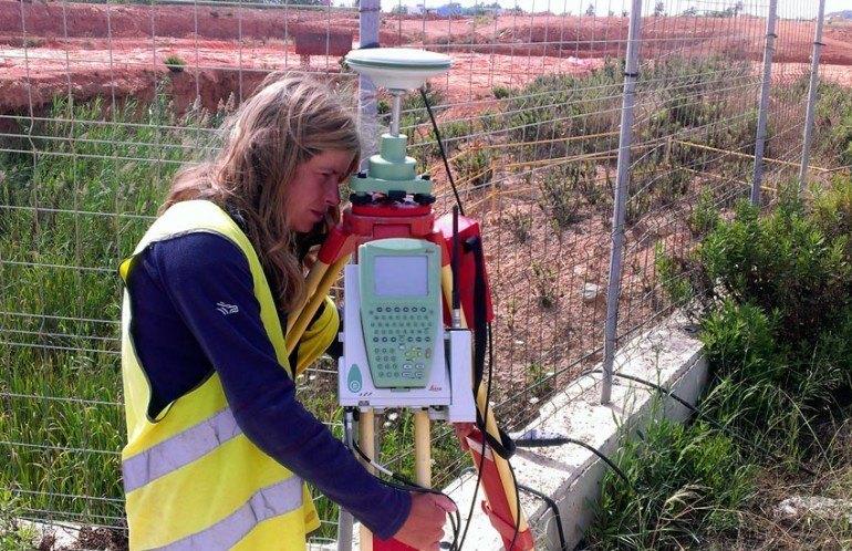 GPS diferencial en Arqueologia