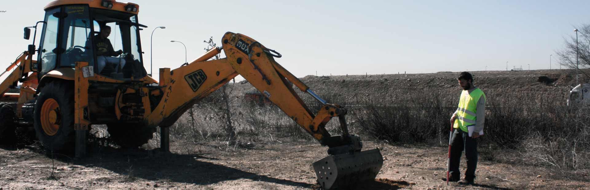 Actuación arqueológica para construcción de edificio industrial en San Fernando de Henares