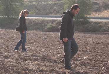 Arqueólogos prospectando en Madrid