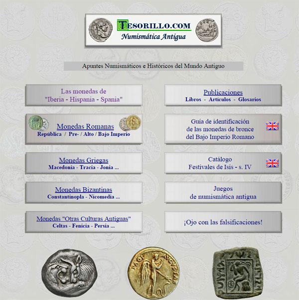 Pagina principal de Tesorillo.com