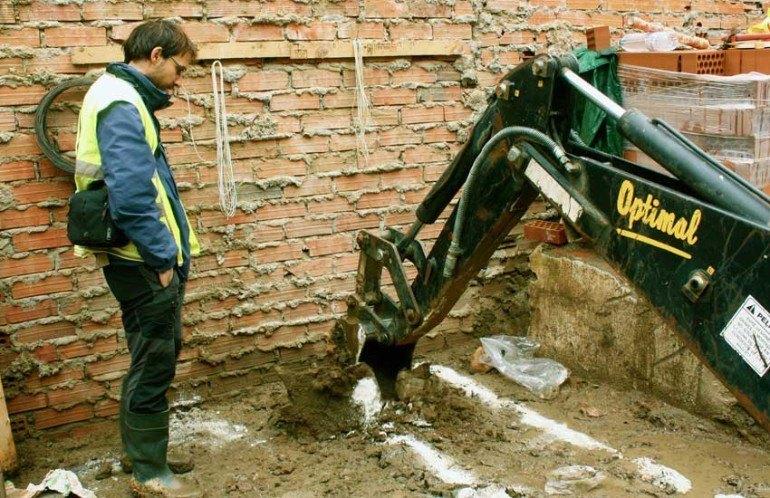 Excavación arqueológica en Algete