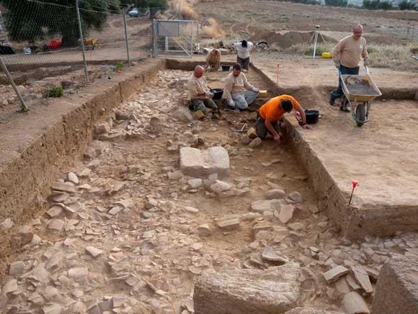 excavando-guarrazar